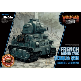 WWT-009 MENG French Medium Tank Somua S-35