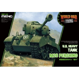 WWT-010 World War Toons M26 Pershing U.S. Heavy Tank