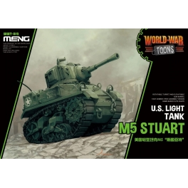 WWT-012 U.S. Light Tank M5 Stuart