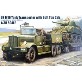 63502 1/35 M19 Tank Transporter with Soft Top Cab