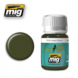 AMIG1612PLW GREEN BROWN