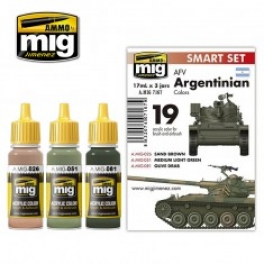 AMIG7167	AFV ARGENTINIAN COLORS