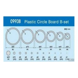 09938 	Round rubber kit B-0.5mm thick