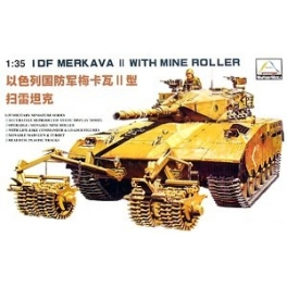 80107 	1/35 Merkava II with RKM mine roller