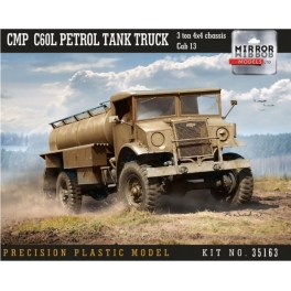 35163 1/35 CMP Chevy C60L Petrol Tank Truck 3 ton 4x4 chassis Cab 13