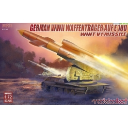 UA72112 German WWII E-100 panzer weapon carrier with V1 Missile launcher