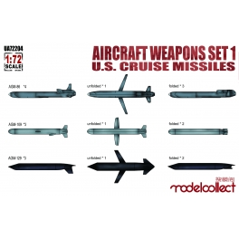 UA72204 1/72 Aircraft weapons set1 U.S.cruise missiles