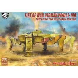 UA72151 1/72 Fist of War German WWII E-100 Super Heavy Tank with 380mm
