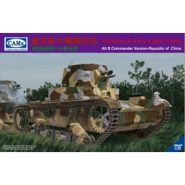 CV35006 Vickers 6-Ton light tank ( Alt B Command Version)