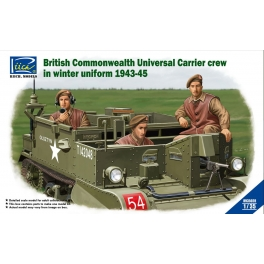 RV35028 1/35 British Commonwealth Universal Carrier crew in winter uniform