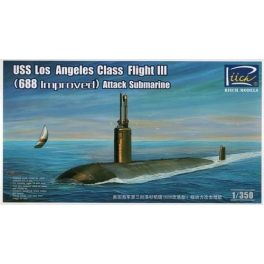 RN28007 1/350 USS Los Angeles Class Flight III (688 improved) SSN