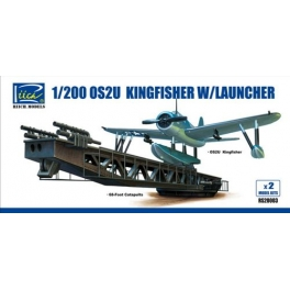 RS20003 1/200 OS2U -3 Kingfisher w/Launch.