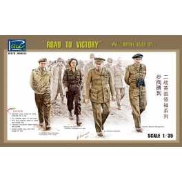 "RV35023 1/35 ""Road To Victory"" WWII British Leaders Set"