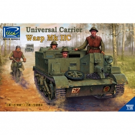 RV35037 1/35 Canad built Universal Carrier Wasp Mk.IIC 2 in 1