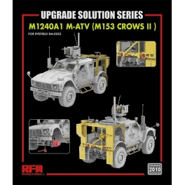 RM-2010 Upgrade set for 5052 M1240A1 M-ATV (M153 CROWS II ) 1\35