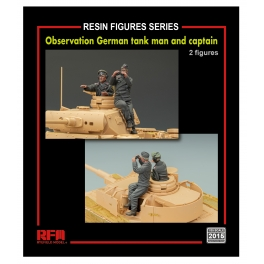 RM-2015 Observation German Tankman and captain 1\35