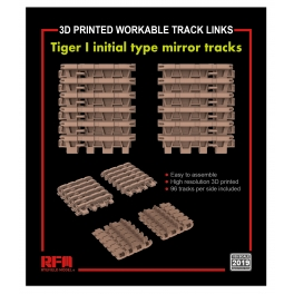 RM-2019 TIGER I initial type mirror tracks 1\35