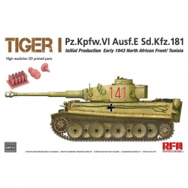 RM-5001U Tiger I initial production early 1943 without interior 1\35