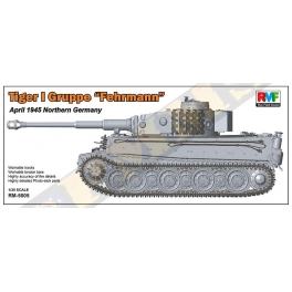"RM-5005 1/35 Tiger I Gruppe ""Fehrmann"" April 1945 Northern Germany"