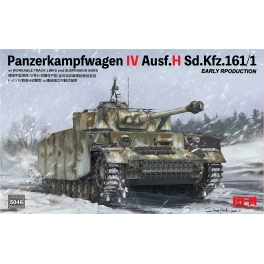 RM-5046 Panzerkampfwagen IV Ausf.H Sd.Kfz.161/1 EARLY RPODUCTION 1\35
