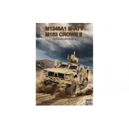 RM-5052 M1240A1 M-ATV (M153 CROWS II ) with full interior 1\35
