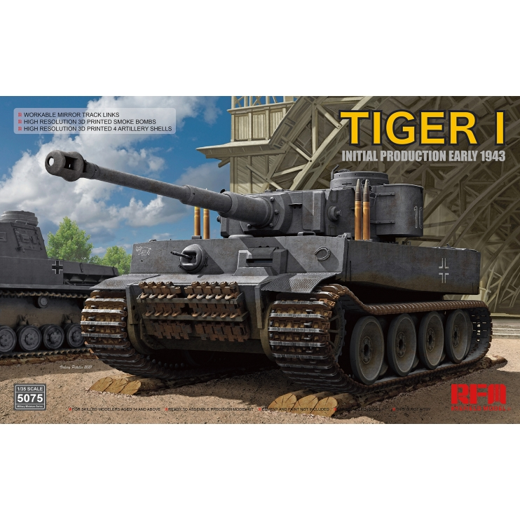 RM-5075 Tiger I Initial Production 1\35