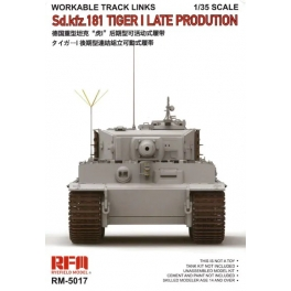 RM-5017 1/35 Sd.Kfz. 181 Tiger I Late Production Workable Track Links