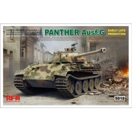 RM-5018 1/35 Panther Ausf.G Early / Late Production