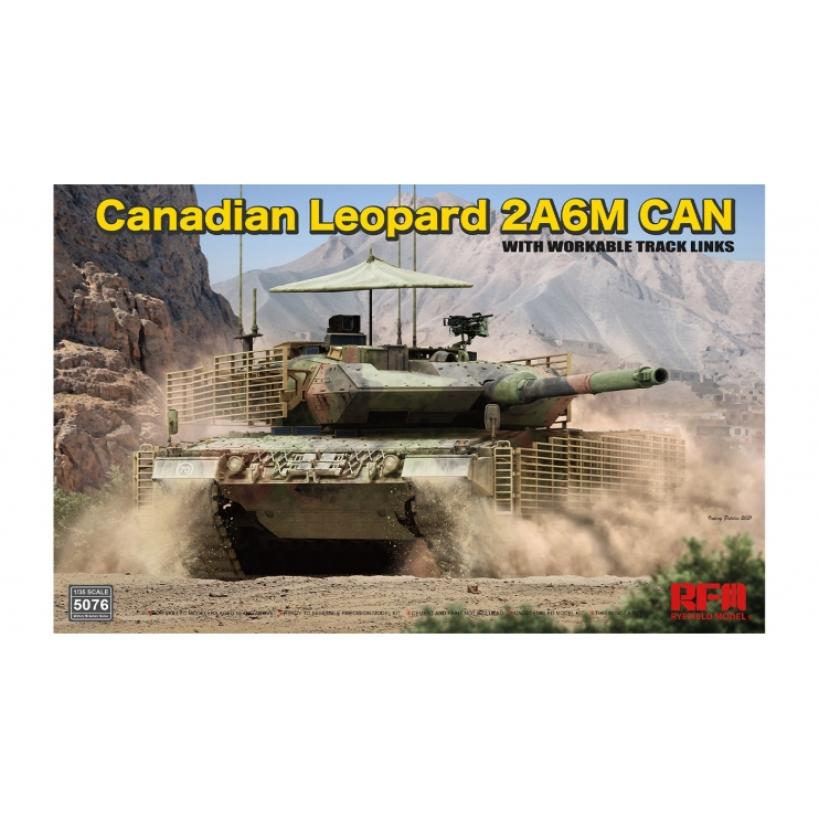 RM-5076 Canadian Leopard 2A6M CAN 1\35
