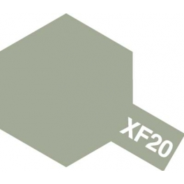 81720 XF-20 MEDIUM GREY FLAT, ACRYLIC PAINT MINI 10 ML. (СРЕДНЕ-СЕРЫЙ МАТОВЫЙ)