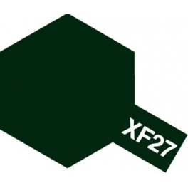81727 XF-27 BLACK GREEN FLAT, ACRYLIC PAINT MINI 10 ML. (ЧЁРНО-ЗЕЛЁНЫЙ МАТОВЫЙ)