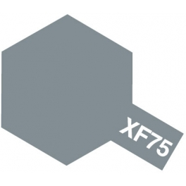 81775 XF-75 IJN GRAY FLAT KURE ARSENAL, ACRYLIC PAINT MINI 10 ML. (СЕРЫЙ МАТОВЫЙ)