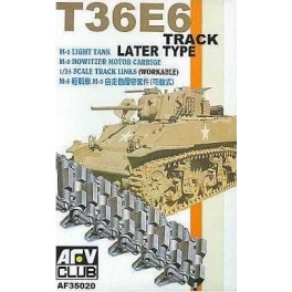 AF35020 1/35 T36E6 Track Later Type