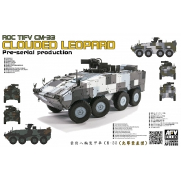 AF35S88 ROC TIFV CM-33 CLOUDED LEOPARD Per-serial Production 1\35