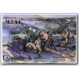 AF35182 1/35 105mm HOWITZER M2A1 Carriage M2A2(WW II Version)