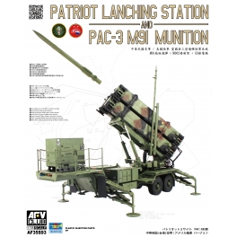 AF35S93 PATRIOT LANCHING STATION & PAC-3 M91 MUNITION 1\35