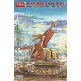 35A036 1/35 Rheintochter R-1. Movable missile louncher on Panther II chassis