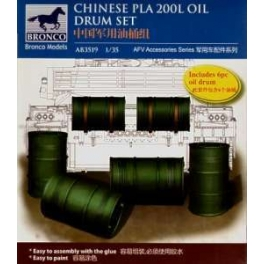 AB3519 1/35 Chinese PLA 200L Oil Drum
