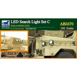 AB3570 	1/35  LED Search Light Set C