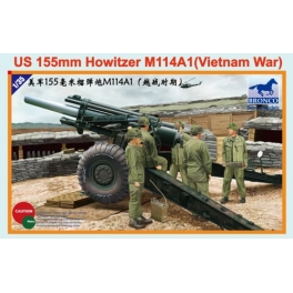 CB35102 1/35 US 155 mm Howitzer M114 A1