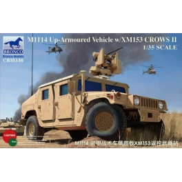 CB35136 M1114 Up-Armored Vehicle w/XM153 CROWS II