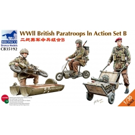 CB351902 	1/35  WWII British Paratroops In Action