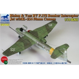 GB7002 	1/72 Blohm & Voss BV P178 Bomber Interceptor Jet w/MK-214 50mm Cannon