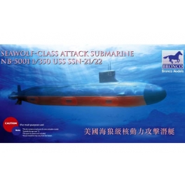 NB5001 	1/350  USS SSN Sea-Wolf attack submarine