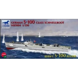 NB5004 1/350 German S-100 Class Schnellboot(Not available in Japan Market)