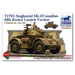ZB48003 1/48 T17E21 Staghound Mk. Late