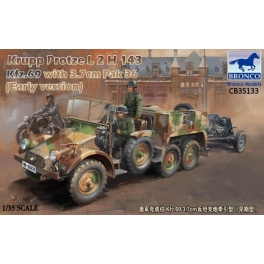 CB35133 1/35 Krupp Protze L2 H 143 Kfz.69 with 3,7 cm Pak 36 (Early version)