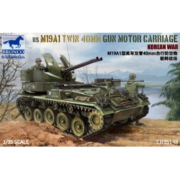 CB35148 1/35 US M19A1 Twin 40 MM Gun Motor Carriage