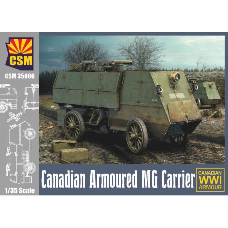 CSM35006 Canadian Armoured MG Carrier 1\35