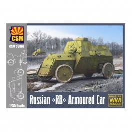 """CSM35007 Russian """"RB"""" Armoured Car 1\35"""